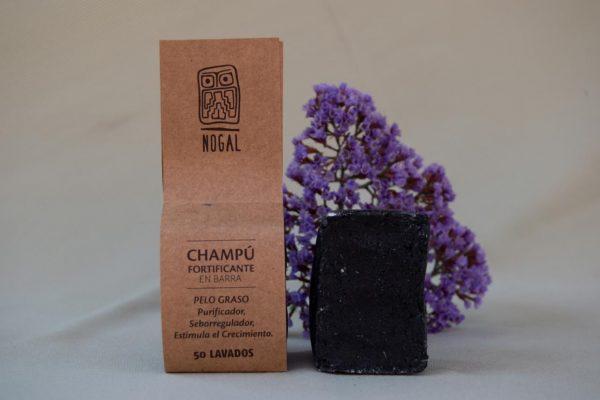 Shampoo Barra Fortificante - Nogal